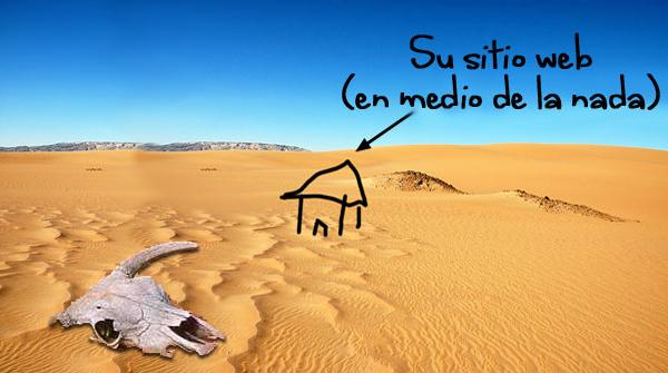 Sitio en el desierto
